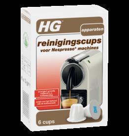 HG international Reinigingscups voor Nespresso apparaten, 6 stuks