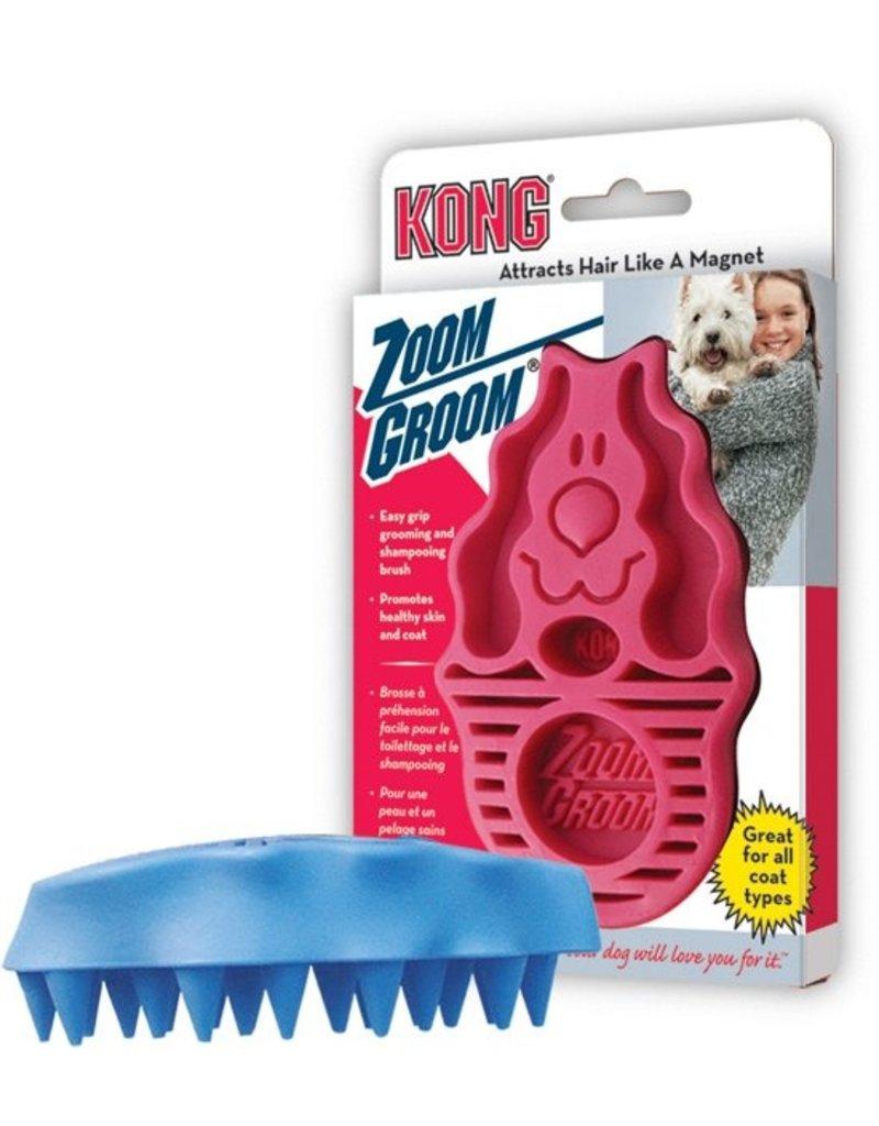 Kong Kong Zoom Groom hondenborstel