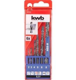 KWB Hss Boren 2- 8 Cass. 6-Del.