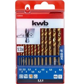 KWB Hss Boren 1.5-6.5 Cass.13-Del.