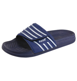 Asadi Asadi - 6365 badslipper pvc blauw - Maat 39