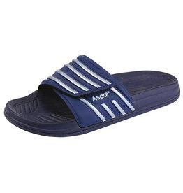 Asadi Asadi - 6365 badslipper pvc blauw - Maat 45