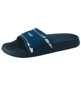 Asadi Asadi - 6388 badslipper pvc blauw - Maat 38