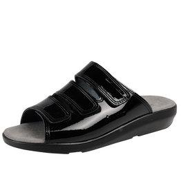 BigHorn BigHorn - 3001 slipper zwart lak - Maat 40