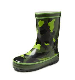 Gevavi Boots Gevavi Boots - Army jongenslaars rubber groen - Maat 27