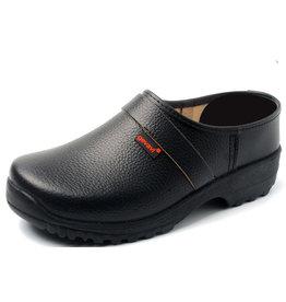 Gevavi Next Gevavi Next - Lincoln gesloten schoenklomp PU zwart - Maat 46