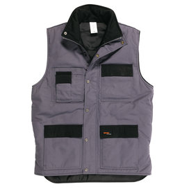Gevavi Workwear Gevavi Workwear - GW21 bodywarmer grijs - Maat M
