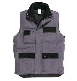 Gevavi Workwear Gevavi Workwear - GW21 bodywarmer grijs - Maat XXL