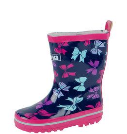 Gevavi Boots Gevavi Boots - Sita meisjeslaars rubber blauw/roze - Maat 21