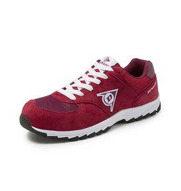 Dunlop Shoes Dunlop - Flying Arrow lage veiligheidssneaker S3 rood - Maat 38