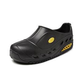 Sunshoes Sun Shoes - AWP Safety EVA clog met composiet neus zwart - Maat 42
