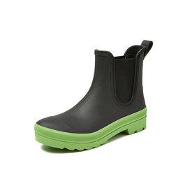 Gevavi Boots Gevavi Boots - 4200 dames enkellaars sebs zwart/limoen - Maat 40