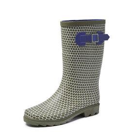 Gevavi Boots Gevavi Boots - Abby dameslaars rubber groen - Maat 42
