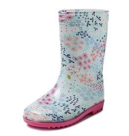 Gevavi Boots Gevavi Boots - Tess meisjeslaars pvc blauw - Maat 23