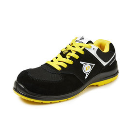 Dunlop Shoes Dunlop - Flying Sword lage veiligheidssneaker S3  zwart/geel - Maat 40