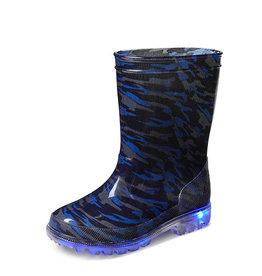 Gevavi Boots Gevavi Boots - Lars jongenslaars met ledlampjes pvc blauw - Maat 22
