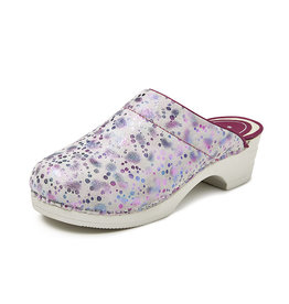 BigHorn Bighorn - 5030 clog buigzame zool space licht roze - Maat 42