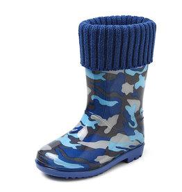 Gevavi Boots Gevavi Boots - Finn gevoerde kinderlaars blauw - Maat 24