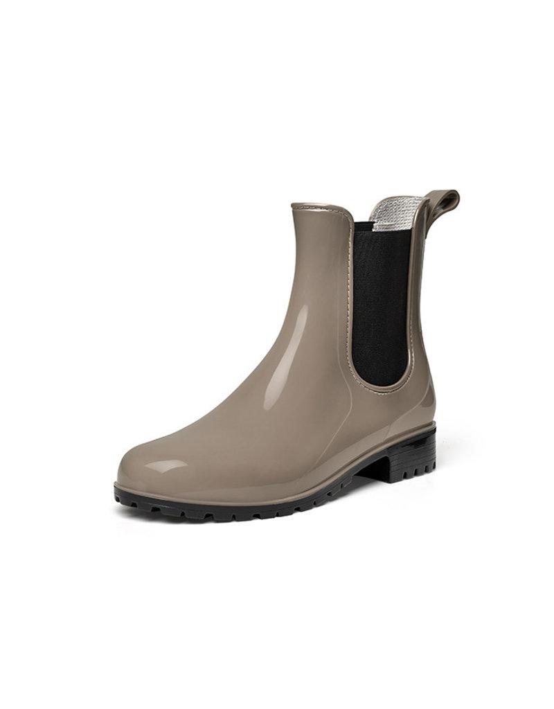 Gevavi Boots Gevavi Boots - 4300 dames enkellaars pvc taupe - Maat 41