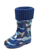 Gevavi Boots Gevavi Boots - Finn gevoerde kinderlaars blauw - Maat 22