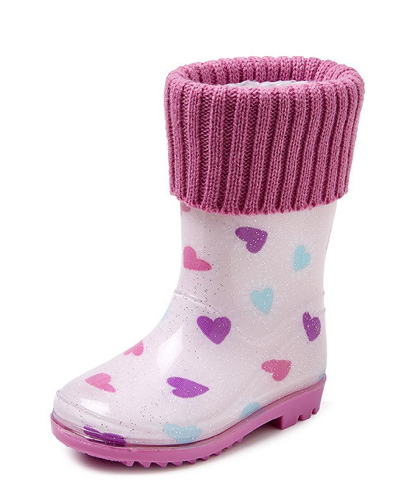 Gevavi Boots Gevavi Boots - Lara gevoerde kinderlaars roze - Maat 23