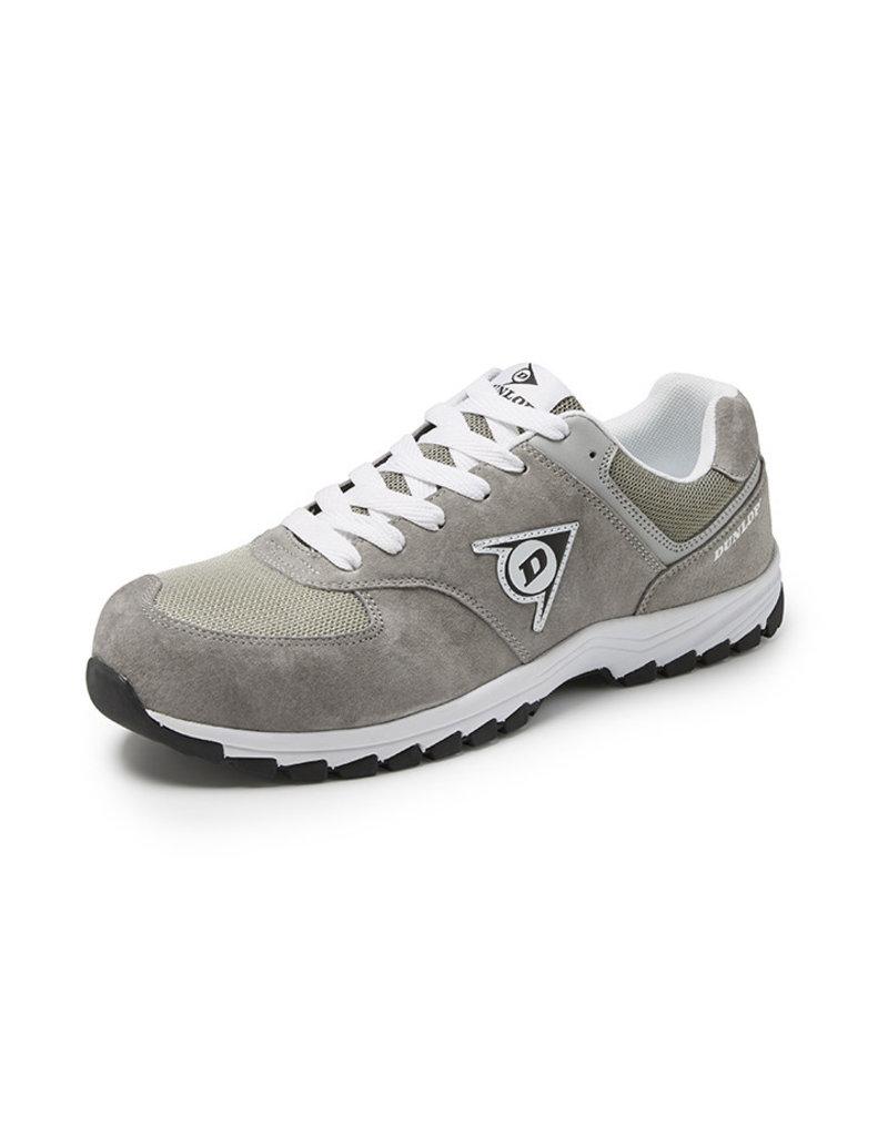 Dunlop Shoes Dunlop - Flying Arrow lage veiligheidssneaker S3 grijs - Maat 46