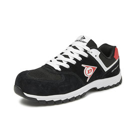 Dunlop Shoes Dunlop - Flying Arrow lage veiligheidssneaker S3 zwart - Maat 44