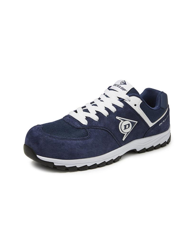 Dunlop Shoes Dunlop - Flying Arrow lage veiligheidssneaker S3 navy - Maat 42