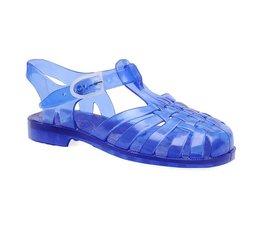Sarraizienne waterschoen blauw doorzichtig kids