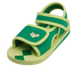 Playshoes watersandaal groen met krokodil
