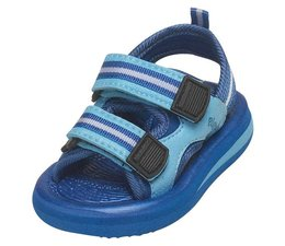 Playshoes watersandaal blauw gestreept