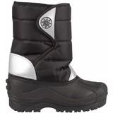 junior snowboots zwart/zilver