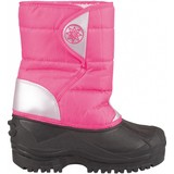 junior snowboots roze/zilver