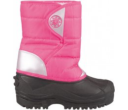 Winter-grip junior snowboots roze/zilver