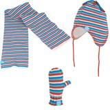 Winterset streep rood/wit/blauw