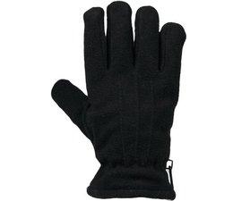 Bernardino handschoenen fleece gevoerd zwart