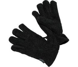 Bernardino kinderhandschoenen fleece gevoerd zwart