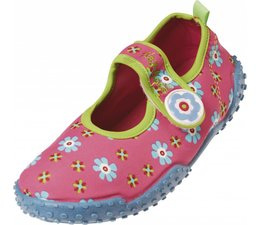Playshoes UV waterschoen roze bloem
