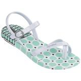 Fashion Sandal Kids wit/groen