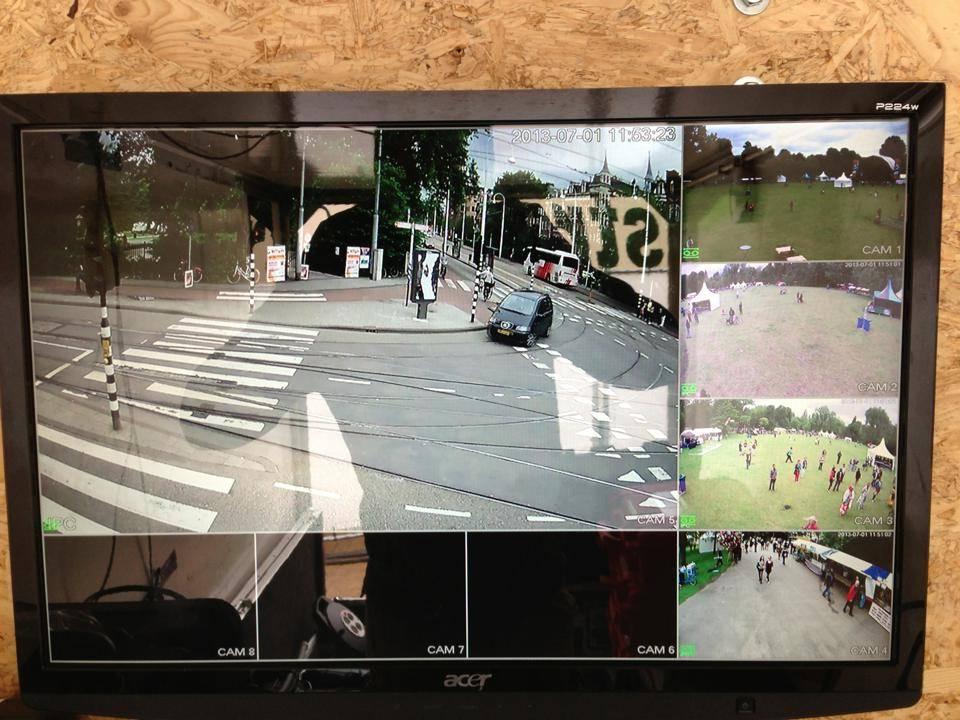 Camera's zijn de oplossing van de meer voorkomende diefstallen