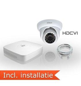 Dahua HDCVI Pakket 1 Camera Inclusief Installatie