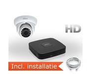 Dahua HD IP Pakket 1 Camera incl. installatie