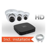 Dahua HD IP Pakket 3 Camera's incl. installatie