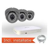Dahua Analoog Pakket - 3 Camera's incl. installatie