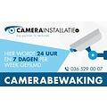 Sticker camerabewaking, 5,5 x 10 cm