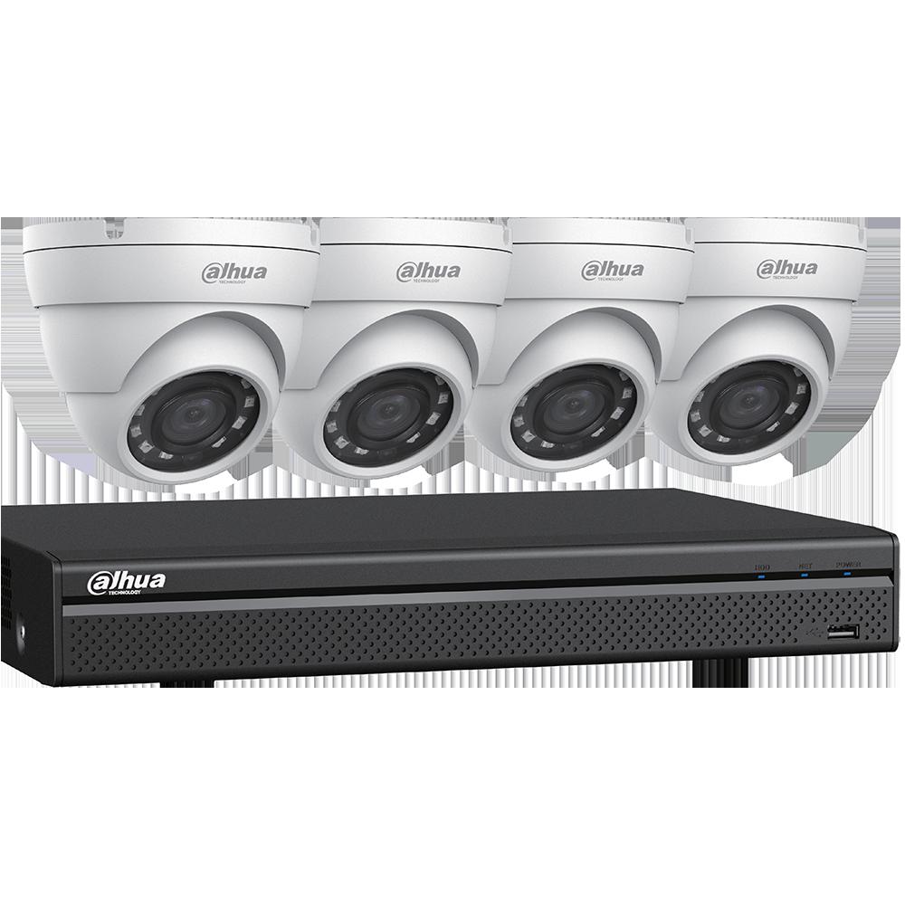 HDCVI Camerabewakingspakketten inclusief installatie