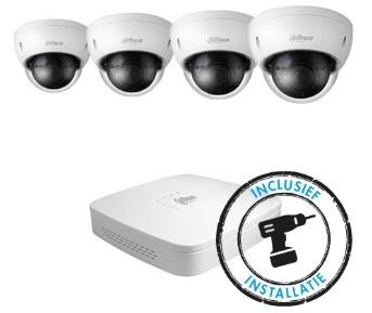 HD IP Camerabewakingspakketten inclusief installatie