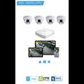Dahua HD CameraBewaking Pakket 4 Camera's Inclusief Installatie