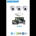 Dahua HD CameraBewaking Pakket 3 Camera's Inclusief Installatie