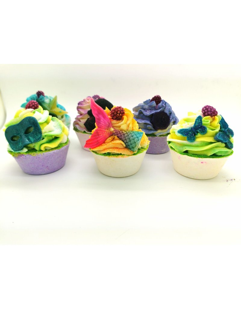 Bath Cupcake & Bubble Bar